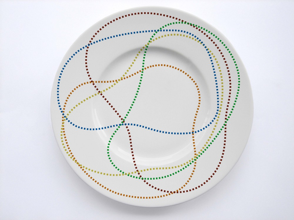 Décor d'assiette - © Pierre Charpin