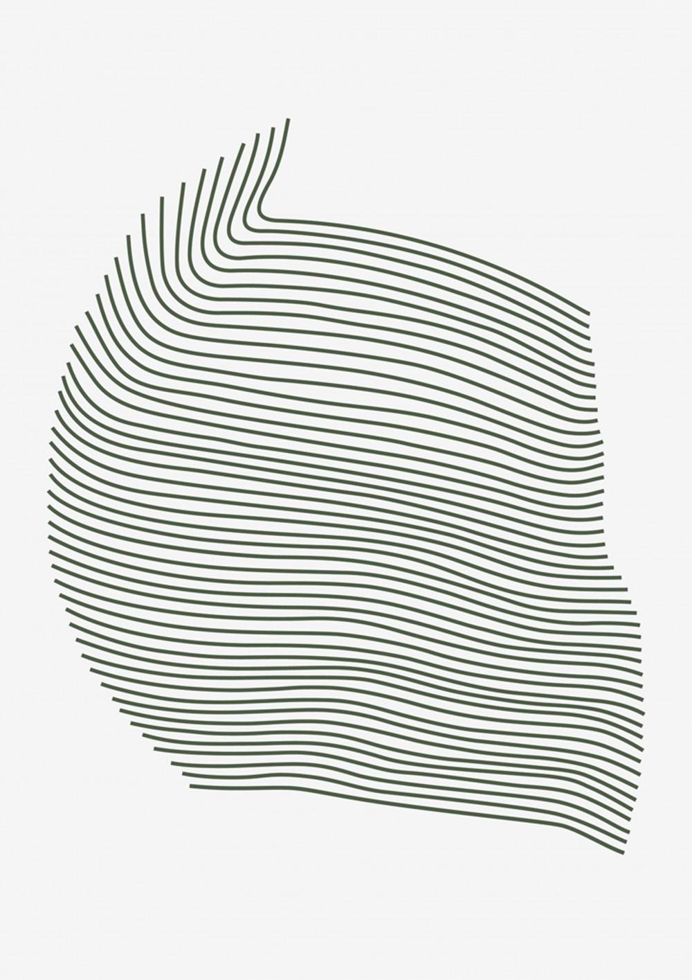 Litho ligne - © Pierre Charpin